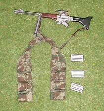 DRAGON DREAMS 1/6 WW II GERMAN PARATROOPER DIRK METAL FG42 MACHINE GUN BANDOLIER