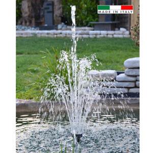 Getti D Acqua Fontane.Dettagli Su Gioco D Acqua Con Getto Medio Giochi D Acqua Fontana Laghetto H 1 4 Mt 4000 Lt
