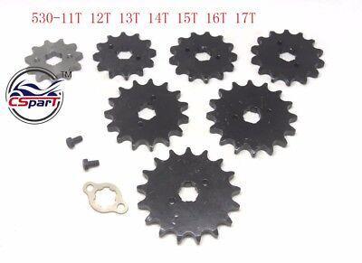 17 Tooth 420 428 520 530 17MM 20MM Sprocket For Taotao Sunl Honda Dirt bike ATV