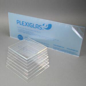 6 mm, 300 x 300 mm Acrylglas Zuschnitt Plexiglas Zuschnitt 2-8mm Platte//Scheibe klar//transparent