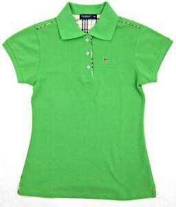 181fb99e5 Women s Burberry London Pique Knit Slim Fit Polo Bright Green Nova ...