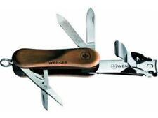 Wenger Schweizer Taschenmesser EvoWood Funktionsset Schere Messer & Nagelknipser