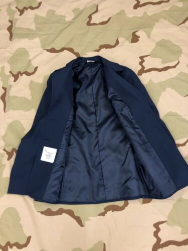 US Air Force Dress Blue Coat Woman/'s Jacket Tropical Old Style sz 13R