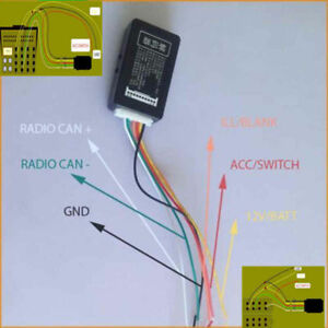 Canbus-Gateway-Emulator-Simulator-Decoder-Fur-VW-Radio-RCD510-RNS510-RCN210