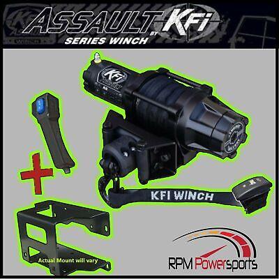 KFI 3000 LB Winch and Mount Kit Kawasaki Teryx4 Teryx 4 750 800 2012-2019