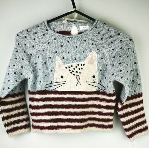 next beige cat jumper and tights Set  new with tags 3-4 yrs