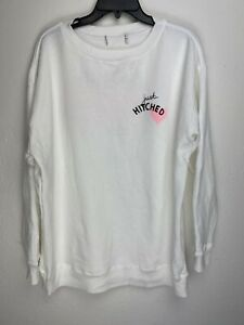 Wildfox-Couture-Womens-Just-Hitched-Pullover-Sweater-White