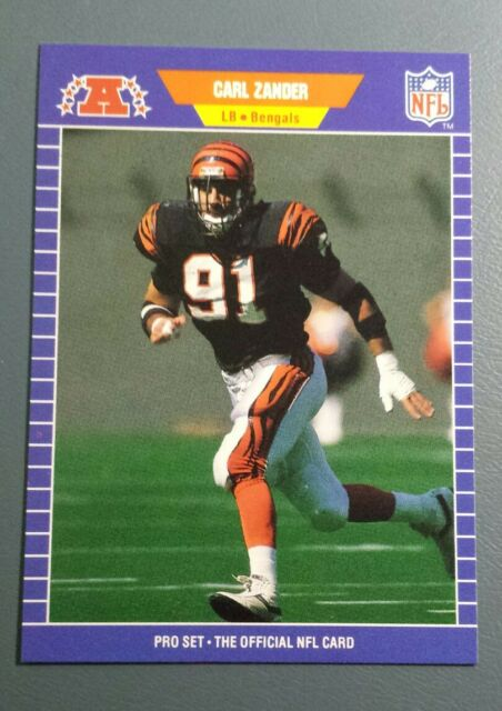 1989 Pro Set Football Card 71 Carl Zander