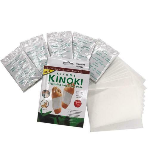 5 pairs Detox Foot Pads Foot detox patch detox Health kinoki fo H3K2 10 pieces