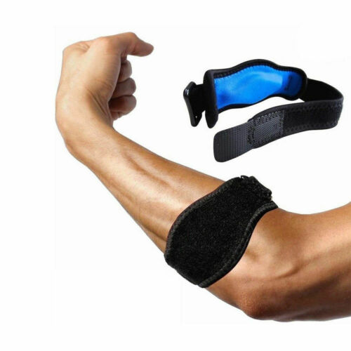 Tennis Elbow Support Sponge Strap Epicondylitis Brace Lateral Pain Relief