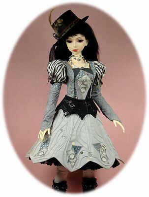 BJD pattern 4 SD, Volks, Elfdoll, AoD can be reduced 4 slim MSD; Steampunk Dress
