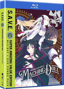 Unbreakable-Machine-Doll-The-Complete-Series-S-A-V-E-New-Blu-ray-With-DV