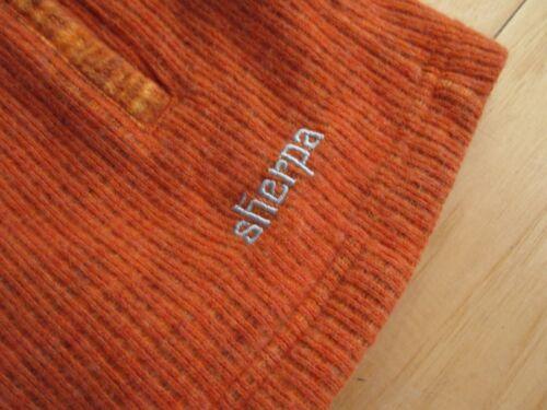 orange laine Sherpa taille à L Veste capuche en Adventure femme Gear vxPqnt8w