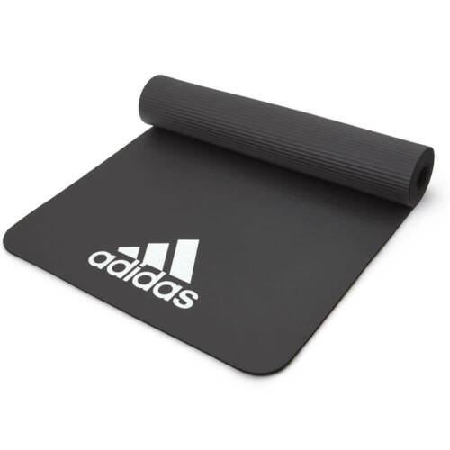 Adidas 7 mm Exercice Tapis Gym Entraînement Fitness Large Épais Rembourré Entraînement Yoga
