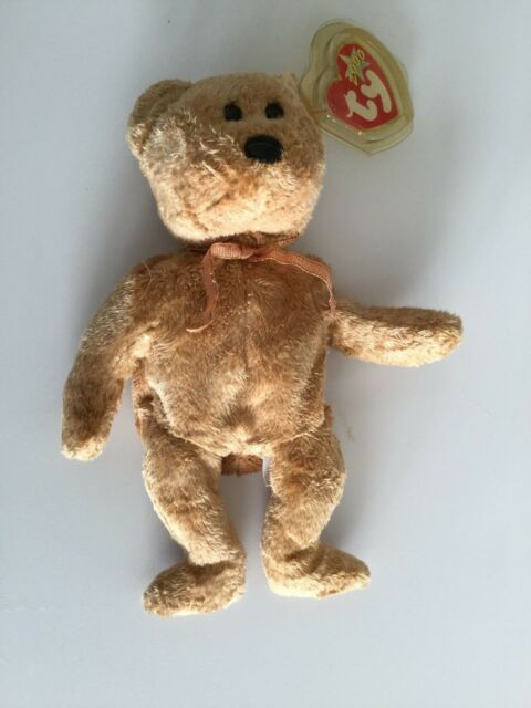 a86c37c03fe Ty Cashew The Bear Beanie Baby. for sale online
