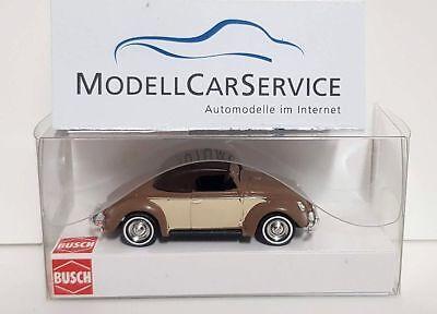 Brown/beige Closed Busch 1/87 46718 Vw Hebmüller-cabrio