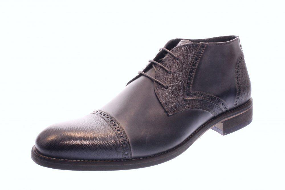 Nicola Benson señores con cordones Business zapato botín azul (azul) 1791b
