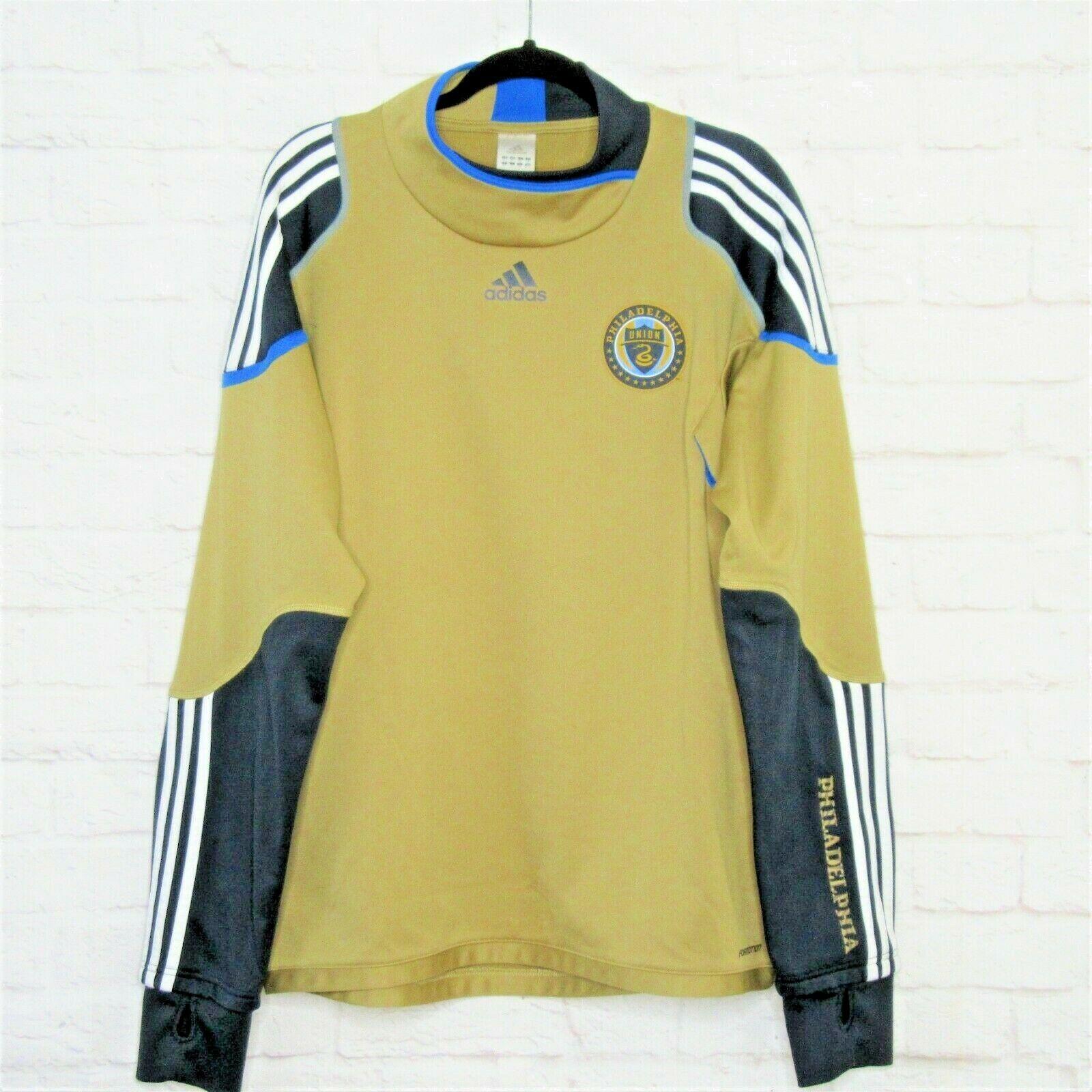 premium selection 7e315 10af0 adidas Philadelphia Union Soccer Training Formotion Sweat Shirt-jersey Top  Sz XL for sale online | eBay