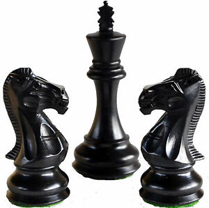 Limited-Edition-Wooden-Weighted-Collectible-Handmade-Chess-Set-4Qns-King-4-034-34Pc