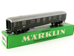 MARKLIN-FOURGON-A-BAGAGES-DE-LA-DB-REF-4026-ECHELLE-H0-1-87