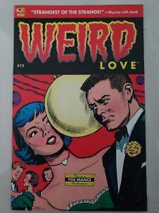 WEIRD-LOVE-12-2016-IDW-COMICS-WEIRD-HORROR-ROMANCE-CLASSICS-1ST-PRINT-NM