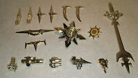 Voltron Weapons Accessories For Die Cast Voltron Action Figure Gold Trend Master