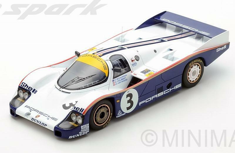 Porsche 956 Winner Le Mans 1983 Holbert - Haywood - Schuppa 1 18 SPARK 18LM83