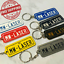 PERSONALISED-REGO-NUMBER-PLATE-KEY-TAG-MADE-TO-ORDER thumbnail 1