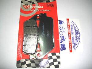Front Brake Pads BREMBO Carbon Ceramic 07096 Kymco Super Dink 125 2009
