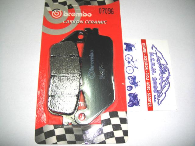 Rear Brake Pads BREMBO Carbon Ceramic 07096 Kymco Downtown I 125 2014