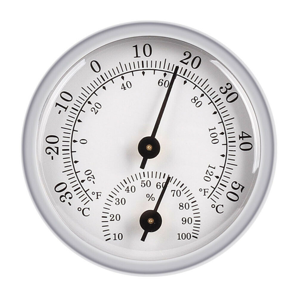 Temperature Gauge Analogue Humidity Hygrometer Simple Thermometer Meter Classic