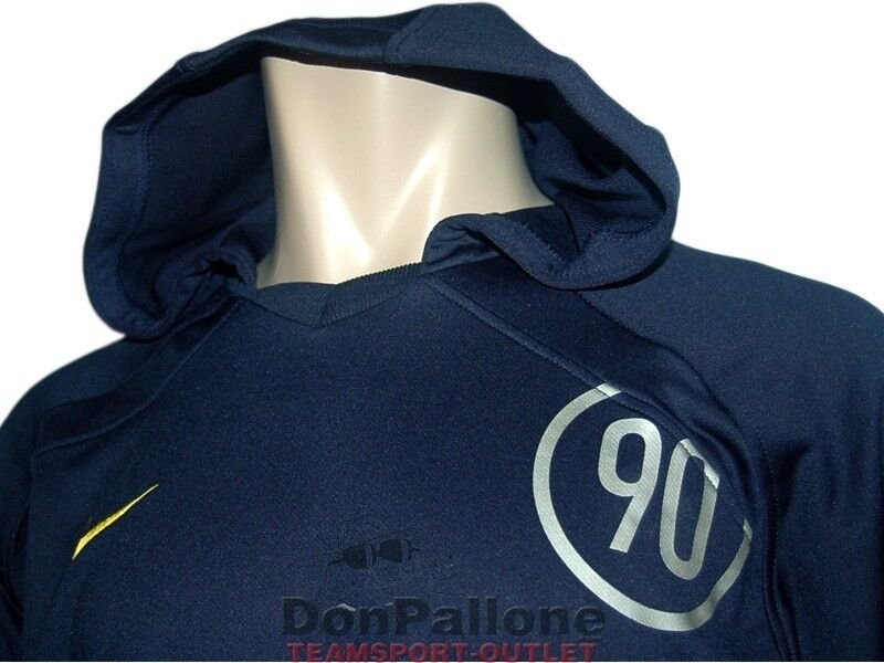 Nike Total 90 90 90 Kapuzen Sweatshirt dunkelblau Hoody Fußball Training Top Gr.S - XL d60ab8