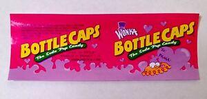 willy wonka bottle caps