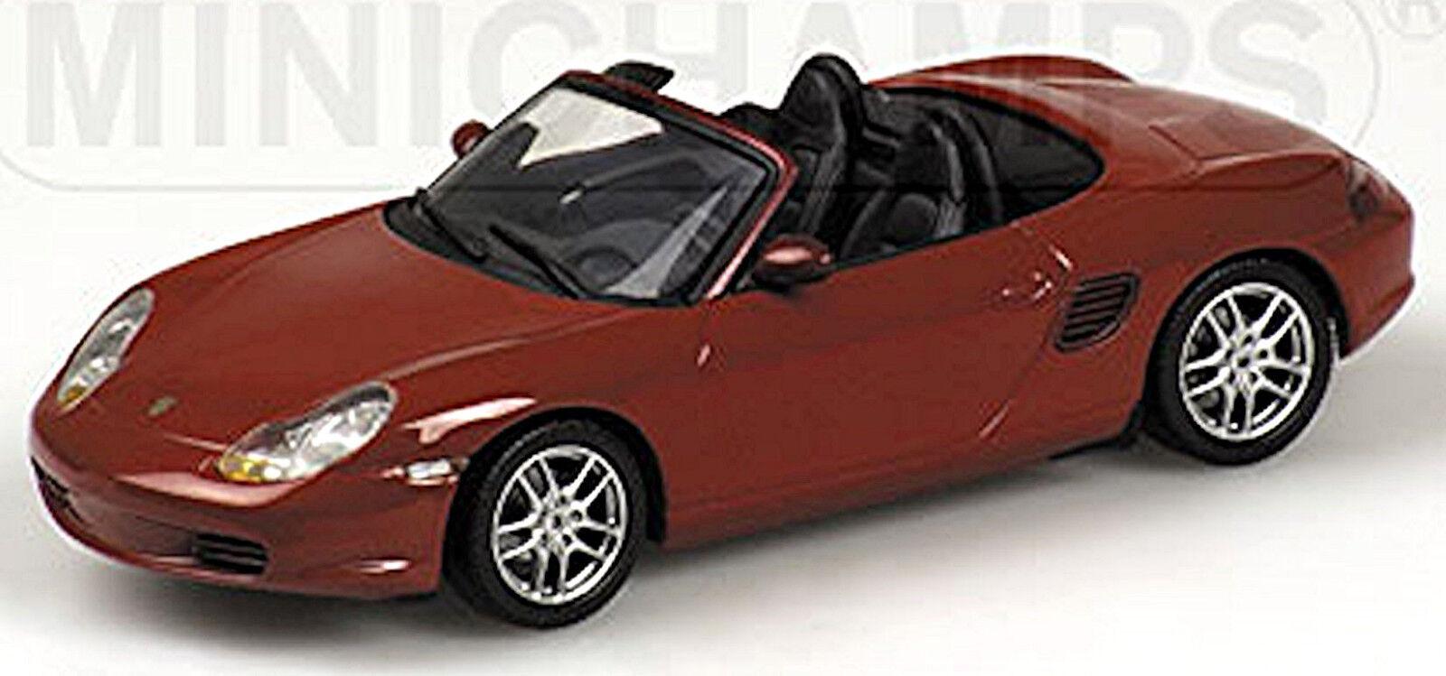 Porsche Boxster Typ  986 1996-2004 orient red red metallic 1 43 Minichamps