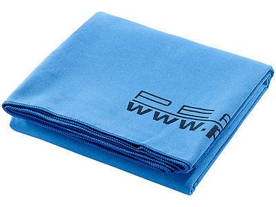 Kuschelweich Mikrofaser Badetuch blau 180x90 cm Strandtuch Duschtuch Fitness