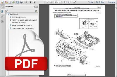 2014 2015 Mitsubishi Lancer Service Repair Workshop Fsm Manual Wiring Diagram Ebay