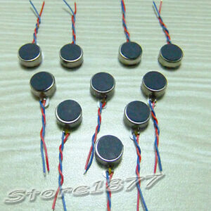 10pcs-Pager-and-Cell-Phone-Coin-Flat-Vibrating-Micro-Motor-With-Two-Leads-s884