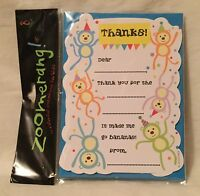 Zoomerang Monkey 8 Count Thank You & Envelope Pack
