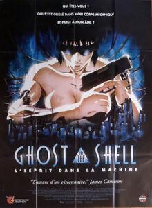 Ghost In The Shell Oshii Manga Cyborg Original Large French Movie Poster Ebay