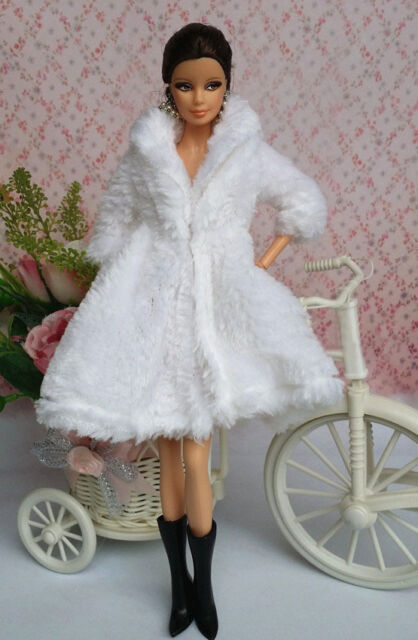 Lovely Fashion Coat Clothes//Outfit+Boots For 11.5in.Doll C008