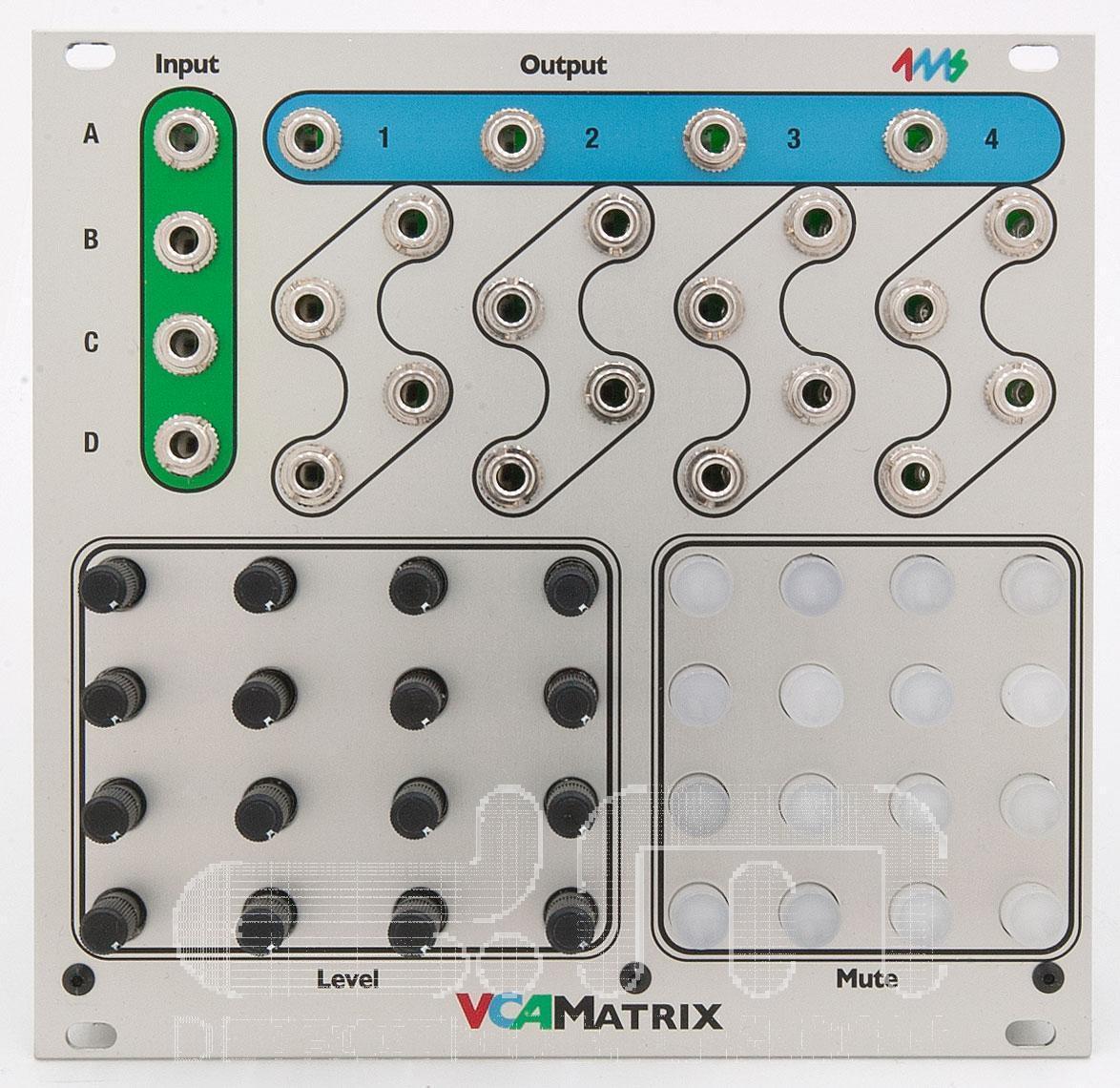 Sconto del 70% 4ms Vca Vca Vca Matrix  Eurorack Modulo  Nuovo Detroit Modulare]  comodamente
