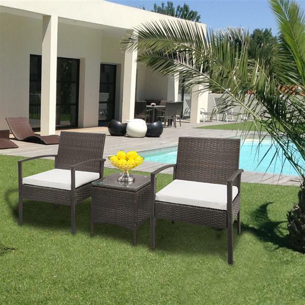 Monterey 2 Piece Outdoor Wicker Patio Furniture Set 02a For Sale Online Ebay
