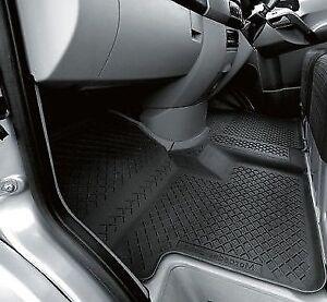 Details About Genuine Mercedes Benz Sprinter W 906 All Season Rubber Floor Mat Set Rhd Black