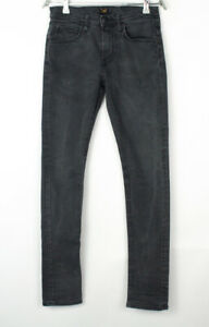 Lee Hommes Luke Droit Jambe Slim Jeans Extensible Taille W28 L32