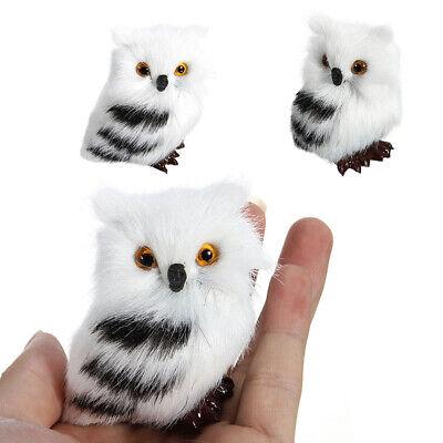 Owl Animal Hanging Pendant Simulation Fashion Christmas Tree Lively Ornaments