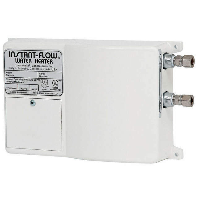 Chronomite SR-30/208 HTR 208-Volt 30-Amp SR Series Instant-Flow ...