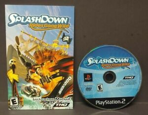 Splashdown-Rides-Gone-Wild-Sony-Playstation-2-PS2-Game-Lot-Tested-Working