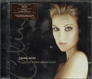 Celine-Dion-Let-039-s-Talk-About-Love-Titanic-Theme-con-sticker-CD-Ottimo