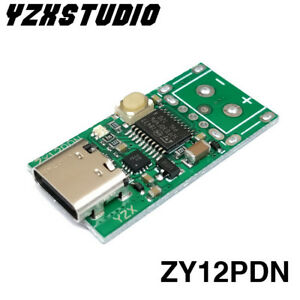ZY12PDN Type-C PD to DC USB SurfacePro Decoy Fast Charge Trigger Poller