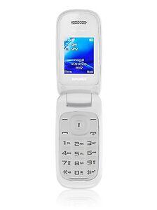 Brondi-Oyster-S-Bianco-Cellulare-a-Conchiglia-Dual-Sim-con-Display-Colori
